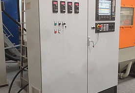 Rösler control cabinet with CNC panel
