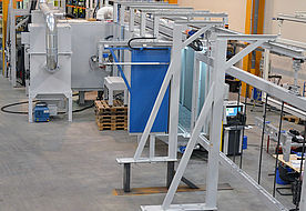 Vertical continuous flow installation ATH 6000 R2 P in front view