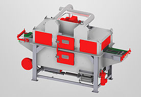 SAB 370-SK 1+1 wire mesh belt machine