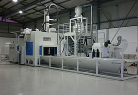 Horizontal continuous flow installation ATH 4000 GV3 P in side view