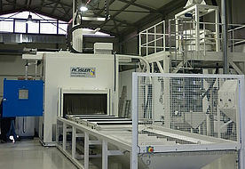 Horizontal continuous flow installation ATH 4000 GV3 P in front view