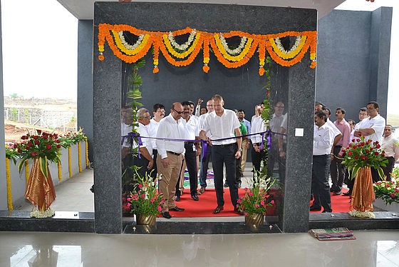 Opening of the new Roesler facility in Pune